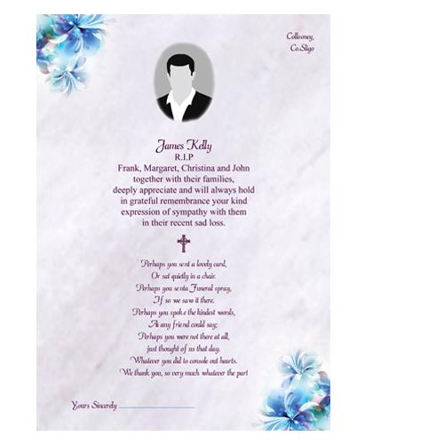 acknowledgement-letter-blue-flower