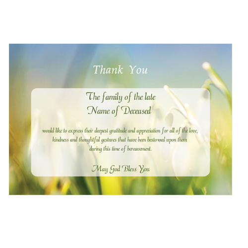 acknowledgement-card-snowdrop