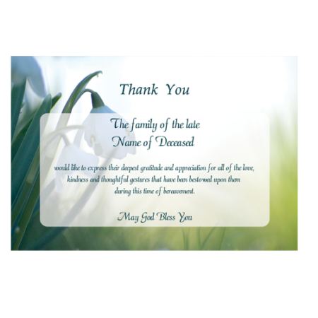 acknowledgement-card-snowdrops-in-the-shade