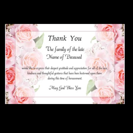 acknowledgement-card-rose